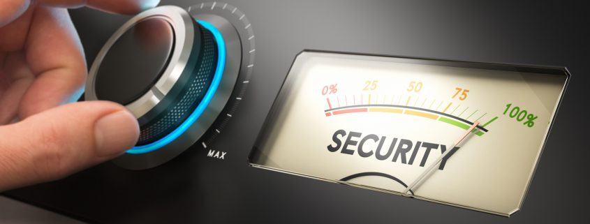 Turning up the security knob